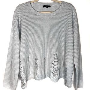 Romeo & Juliet Couture Oversized Crop Sweater